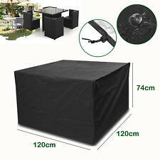 Waterproof Outdoor Garden Patio Furniture Covers Table Chair Shelter Rain Square