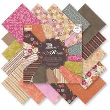 """Bargain-première édition 8 x 8 pouces desert blooms 48 x 8"""" x 8"""" papiers pour artisanat"""