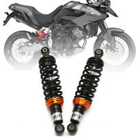 "Pair Motorcycle 280mm 11"" Rear Air Shock Absorbers For Yamaha Honda Suzuki Quad"