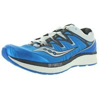 Saucony Mens Triumph ISO 4 EVERun Low Top Running Shoes Sneakers BHFO 6481