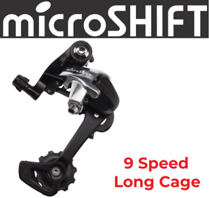 microSHIFT R9 9-Speed Rear Long Cage Derailleur fits Shimano