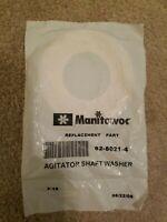 MANITOWOC. P/N: 62-8021-4. AGITATOR SHAFT WASHER. OEM. BRAND NEW FACTORY SEALED