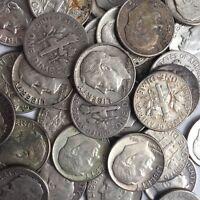 90% Silver Roosevelt Dimes $1 Face Value