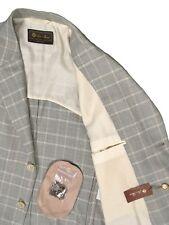 NEW! $3795 Loro Piana Sportcoat Jacket!  US 40 e 50   Prince of Wales Plaid