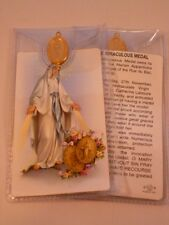 Miraculous Medal ~ Prayer Card & Medal