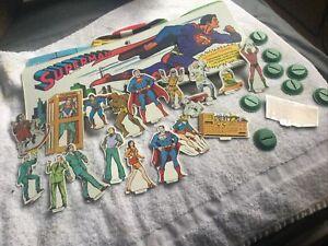 Superman Ideal 1973 Playset