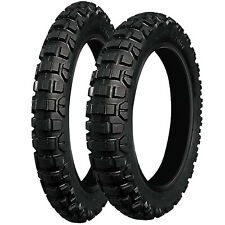 Yamaha WR 125 R 2009-2017 Vee Rubber Tubed Tyre Pair 80/90P21 & 110/80P18