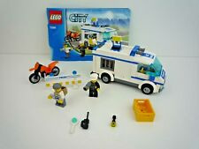 LEGO CITY 7286 POLICE PRISONER TRANSPORT WITH INSTRUCTIONS / COMPLETE