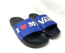 VANS Slide On MTL I love Vans Men's All Sizes Sandals Blue VN0A45JEVGG