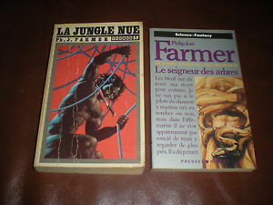 PHILIP JOSE FARMER - MEMOIRES INTIMES DE LORD GRANDRITH - LOT DES 2 TOMES