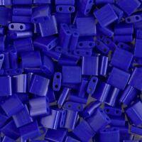 Miyuki Tila 2-Hole Square Beads 5mm Opaque Cobalt Blue 7.2GM MBTL-414