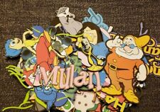 Miscellaneous &  Disney themed printed scrapbook page die cut  set of 50 pieces