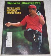 Sports Illustrated Magazine June 28, 1971 Lee Trevino Gold Supermex