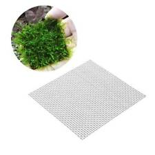 5pcs Stainless Steel Aquarium Wire Mesh Pad Water Fish Tank Planting Moss Net RF
