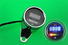 LED Tachometer Fuel Gauge For Yamaha Kawasaki Honda Suzuki Ducati Sport Bike