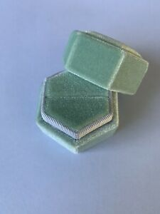 Velvet ring boxes - various shapes and sizes