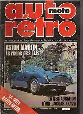 AUTO RETRO 2 ASTON MARTIN DB1 DB2 DB2/4 DB4 DB6 STAG TRIUMPH BONNEVILLE JA XK120
