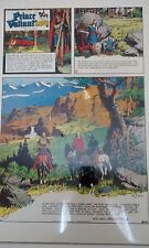 Prince Valiant Days of King Arthur by Hal Foster 22x17 Limited Ed Print 983/1500