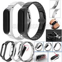 Metall Armband Ersatzband Uhrenarmband Edelstahl Strap Für Xiaomi Mi Band 5 Neu