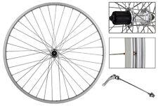 Weinmann AS23X 700c Rear Cassette Type 130mm Silver Road Bike Wheel Singlewall