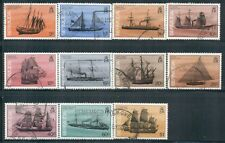 BERMUDA 482-93 SG507A-18A Used 1986-90 Ships Defin short set of 11/17 Cat$17