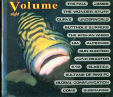 Volume 8 Eight - James/Curve/Afghan Whigs/Autechre Book & Cd Perfetto