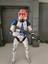 "Star Wars Black Series 6"" Custom Captain Vaughn Commander Clone"