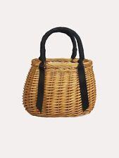 Hat Attack Sophia Basket Bag NWT