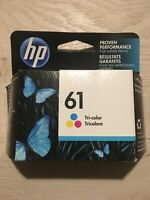 HP #61 Color Ink Cartridge 61 CH562WN NEW GENUINE