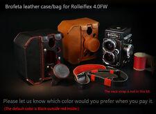 Brofeta leather bag case for Rolleiflex 4.0FW  camera case/bag Handmade