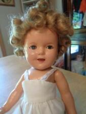 "Vintage  Ideal?  Composition Shirley Temple Doll~Repair/Restoration~13""~TLC~"