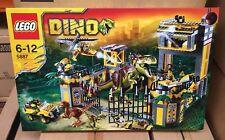 LEGO DINO 5887 DINO DEFENSE HQ Retired AUS Seller New Sealed 2012 release T-Rex