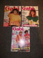 3 Gabi Strick & Bastelhefte