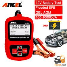 Car 12V Battery Tester 100-1000CCA Acid AGM GEL Battery Analyzer Ancel BST200