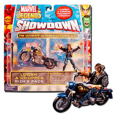 Marvel Legends Showdown Riders Series 1 Logan & Chopper Rider Pack Set