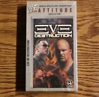 WWF ATTITUDE COLLECTION Eve of Destruction VHS, 2000 BRAND NEW