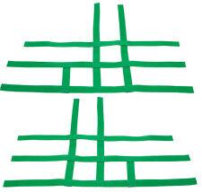 Honda TRX 400EX 450R TRX400EX TRX450R   Nerf Bar Nets   Fits Alba Tusk Green J