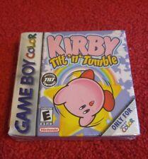 Kirby Tilt 'n' Tumble (Nintendo Game Boy Color) Brand New