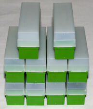 10 x Fuji 35mm Slide Storage Boxes with Lids