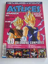 MAGAZINE ASTUCES MANIA N°24 , PLAYSTATION , XBOX , GAMECUBE , PSP .TRES BON ETAT