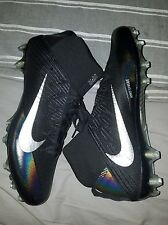 NEW Nike Vapor Untouchable 2 Football Cleats Black Silver Size 14 (824470-002)