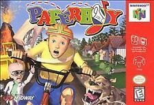 PAPERBOY NES NINTENDO GAME COSMETIC WEAR