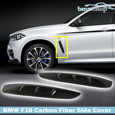Carbon Fiber BMW X6 F16 5D SUV Side Fender Airduct Vent Cover 17 18