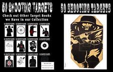 50 Shooting Targets 8. 5 X 11 - Silhouette, Target or Bullseye