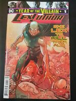 ⭐️ LEX LUTHOR:  Year of the Villain #1a (2019 DC Comics) VF/NM Book