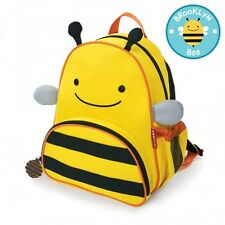 Skip Hop Zoo Kid Toddler Children Colourful Bee Travel  Backpack