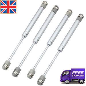 4x Gas Strut Stay Cabinet Door Hinge Spring Flap Support For Cabinetdoor40- 200N