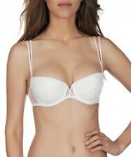 Simone Perele Desir padded bra NWOT Off White w/rose embroidery 38C