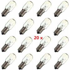 20x E14 15W Salt Lamp Globe Light Refrigerator Glass Bulb Element Part 220V-240V