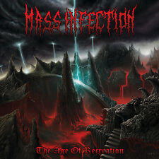 "MASS INFECTION ""The Age of Recreation"" death metal CD"